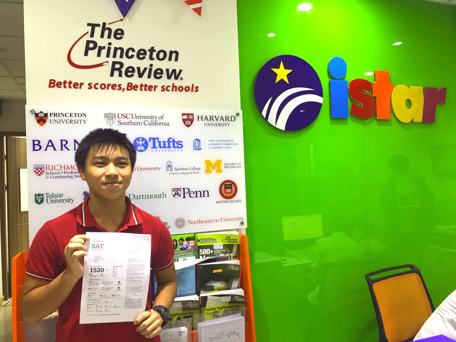 Việt Hùng đã xuất sắc ẵm trọn 800 điểm phần thi Toán trong kì thi SAT