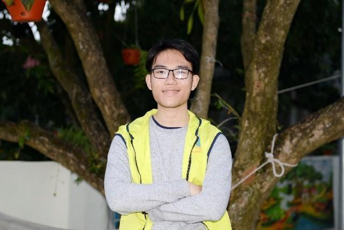 Gia Khánh - người chủ trì Dự án trồng cây trên Đảo Cò